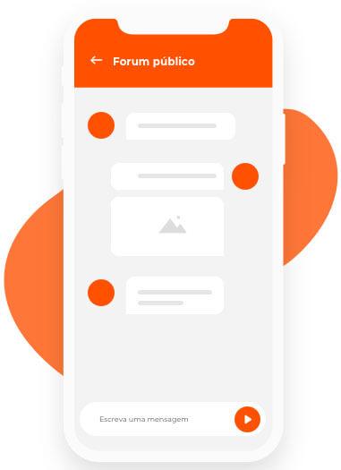Chat em aplicativo